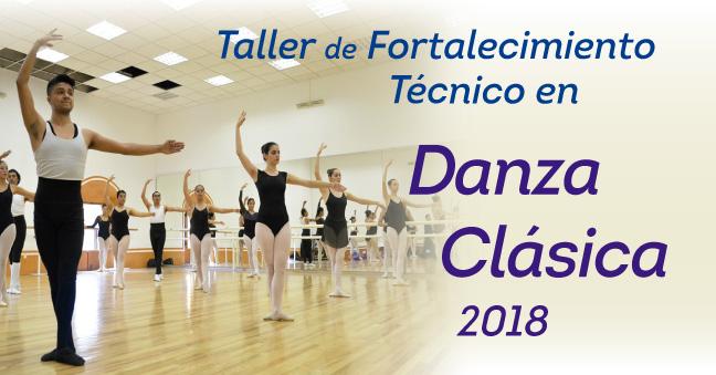 432x226 convo Taller de Fortalecimiento en Danza Clásica