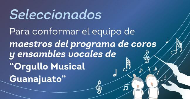 SELECCIONADOS 432x226 convo Maestros de coros