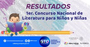 RESULTADOS 432x226Ppx 1er Concurso Nacional de Literatura niño