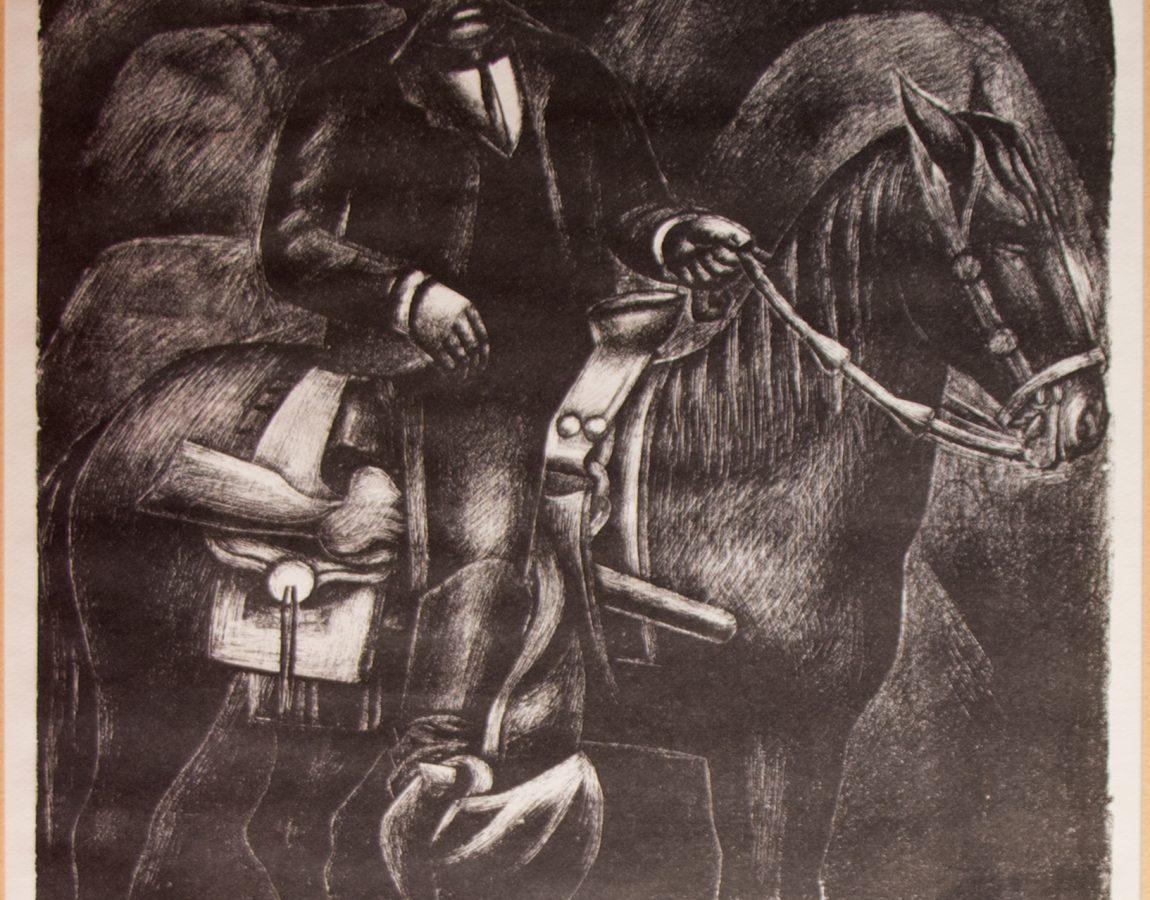 14.- ZAPATA-David Alfaro Siqueiros-Siglo XX