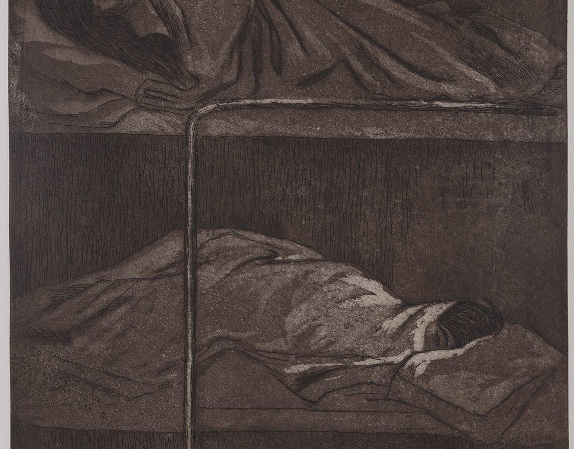35.- DORMITORIO DE CÁRCEL DE MUJERES-Rina Lazo-1986