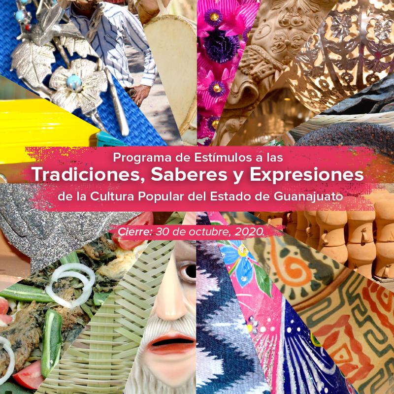 800x800px banner sección Tradiciones, Saberes y Expresiones
