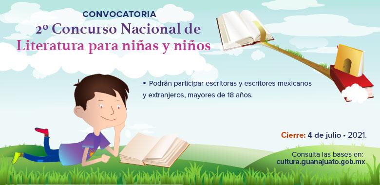 780x380 slide 2º Concurso Nacional de literatura